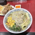 大楠亭 - ちゃんぽんミニと唐揚げ2個