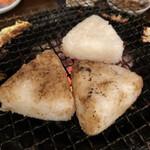 炭火焼の鶏 -