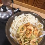 125371733 - 野菜かきあげうどん (530円)