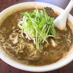 龍山 - 料理写真:黒ごま担々麺