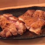 125377740 - 庭つ鶏(皮パリもも焼き)