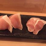 125377746 - 庭つ鶏(鶏さしみ)