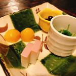 米・肴・旬菜 八 - お通し