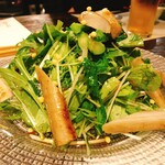 米・肴・旬菜 八 - ゴボウのサラダ