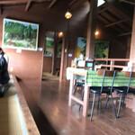 山の茶屋 楽水 - 店内(2階)