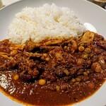 125383301 - レインボー豆カレー(烈タシ)+きのこ+チキンタシ
