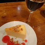 125387380 - 自家製のチーズケーキ