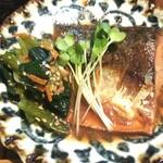 125389078 - 日替わり定食の鯖の味噌煮 ※拡大 (2020.02.12)
