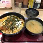 125390517 - ロースカツ丼 550円