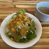 Chibitanku - 料理写真:サラダとスープ