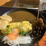 ゆい・ゆい本舗 - 料理写真:忠別ダムカレー