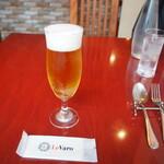 生パスタ専門店 レヴァーロ - 生ビール