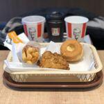 ケンタッキーフライドチキン - ランチS(税込500円)