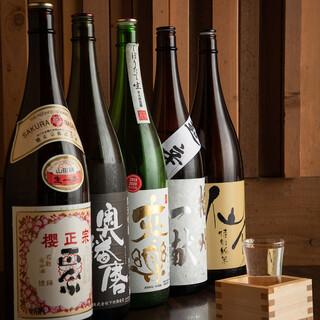 【なんと日本酒は24種!】美酒堪能『プレミアム飲み放題』!