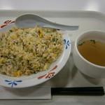リンガーハット - 鯵と青高菜のチャーハン