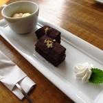 ブランズウィック - デザートのガトーショコラ+\100