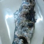 レストハウス鱒の家 - 鱒の塩焼き
