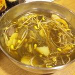 香香 - 食べるスープ(食べ終わり状態ですが・・・)