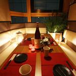 美味門 -うまいもん- - 内観写真:個室充実!!テーブルタイプの個室