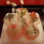 六右衛門 - 桜をイメージしたお刺身