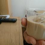 125401347 - ほうじ茶プリン。母の手(*゚ー゚)