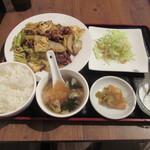 Ippimbou - 回鍋肉定食でございます