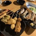 餃子のとりいちず酒場 - 串揚げ・餃子