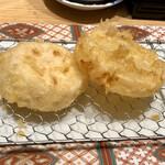 博多天ぷら やまみ - 蓮根と特製煮大根