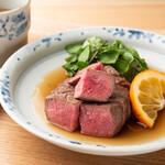 清喜 ひとしな - 料理写真:出汁ステーキ