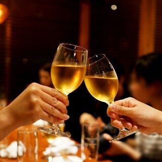 【人気】ドリンク60種&世界のワイン20種飲み放題1980円