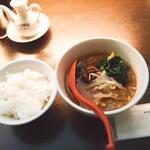 陳建一の担々麺 - ミニ担々麺600円