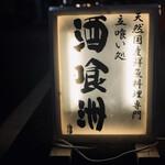 酒喰洲桜井水産 - 看板