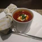 125416191 - トマト風味のボルシチスープ