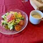 125419281 - サラダとスープ