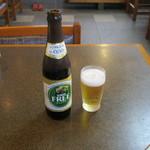 小平うどん - ノンアルコールビールです。