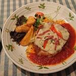 125421572 - 若鶏チーズトマトソース