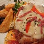 125421575 - 若鶏チーズトマトソース