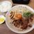 王者-23 - 料理写真:中華蕎麦肉玉子入り小