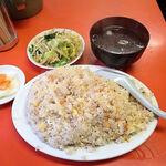百亀楼 - 大盛焼飯(690円)