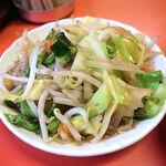 百亀楼 - セットの野菜炒め