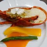 125424847 - 洋皿:ロブスターのサラダ