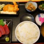 125426822 - まぐろづくし定食(1880円)