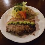 バイキング - 厚切りロース肉のステーキ 1,300円