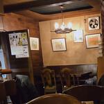 バイキング - 昭和レトロの店内