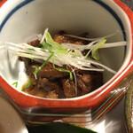 125427798 - 牛すじと舞茸の大和煮