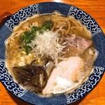 麺や 亀陣 - 鶏白湯塩