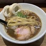 らーめん専門 和心 - 平打ちストレート中太麺