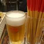 大衆酒場 天しーさー - センベロ 生ビール