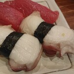 魚寿司 - タコ 190円×2