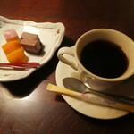 旨いもん 角屋 - デザートとコーヒー